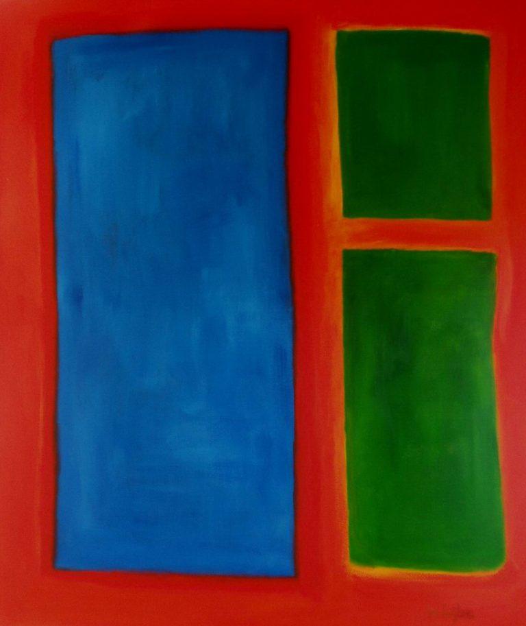Rood/blauw/groen